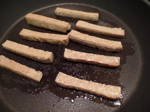 Tofu-Sticks mit Pak Choi und Möhren-Stifte - Rezept - Bild Nr. 2956