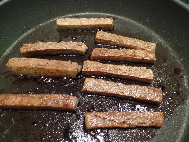 Tofu-Sticks mit Pak Choi und Möhren-Stifte - Rezept - Bild Nr. 2960