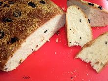 Mediterranes Brot - Art Fladenbrot - Rezept - Bild Nr. 2948