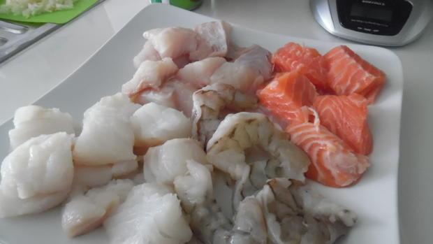 "Portugiesischer Fischeintopf - ""Cataplana"" - Rezept - Bild Nr. 2956"