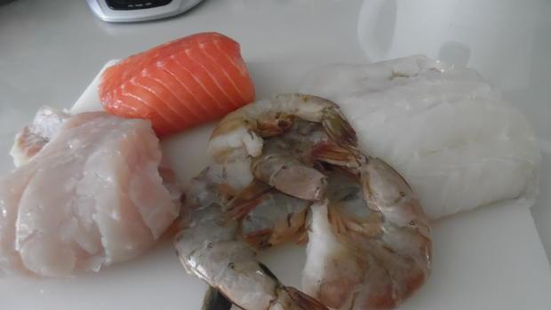 "Portugiesischer Fischeintopf - ""Cataplana"" - Rezept - Bild Nr. 2957"
