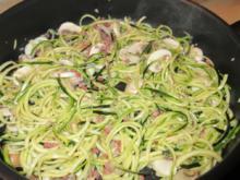 Zucchini-Spaghetti  leicht & lecker - Rezept - Bild Nr. 2954