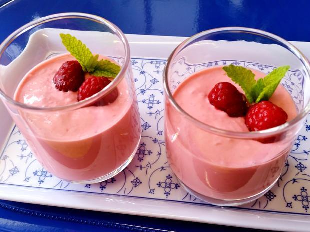 Himbeer-Dessert - fruchtig erfrischend - Rezept - Bild Nr. 2960