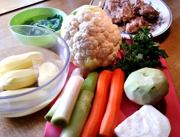 Gemüse-Eintopf mit Lammfleisch - Rezept - Bild Nr. 2963
