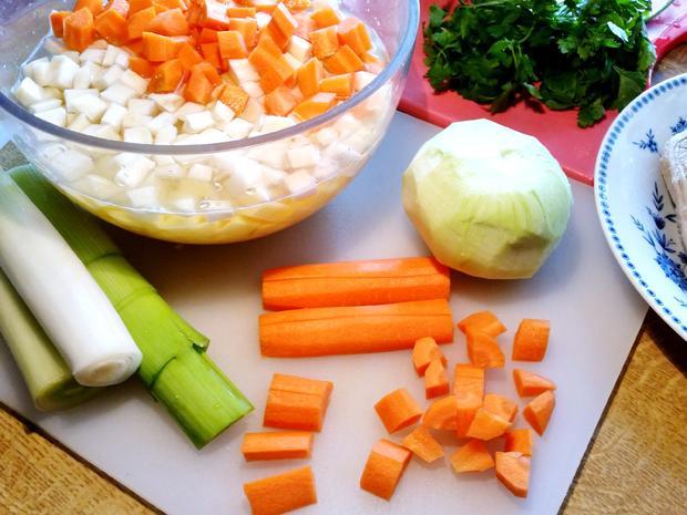 Gemüse-Eintopf mit Lammfleisch - Rezept - Bild Nr. 2964
