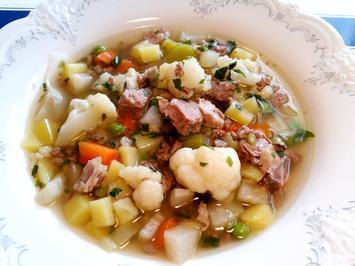 Rezept: Gemüse-Eintopf mit Lammfleisch