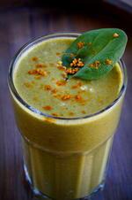 Getränk: Grüner Spinat-Eiweiß-Smoothie - Rezept - Bild Nr. 2965