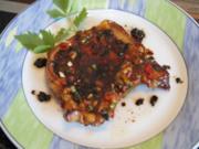 Asia-Koteletts mit Salat und Baguette-Topinki - Rezept - Bild Nr. 2988