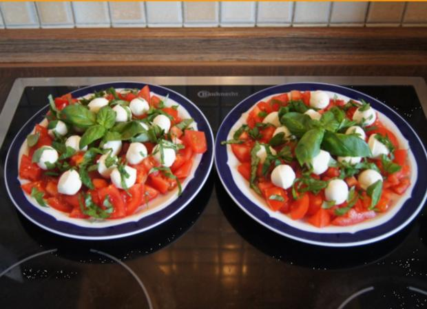 Tomaten-Minimozzarella-Salat - Rezept - Bild Nr. 2993