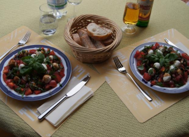 Tomaten-Minimozzarella-Salat - Rezept - Bild Nr. 2995