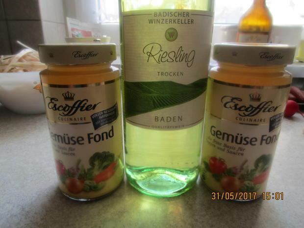 Spargelsuppe ~ mit Kabanossi-Chips und Radieschen - Rezept - Bild Nr. 2990