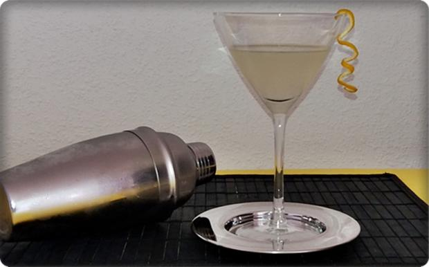 Bond Martini Rezept