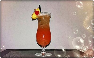Planter's  Punch ➯  ein tropischer Longdrink - Rezept - Bild Nr. 3023