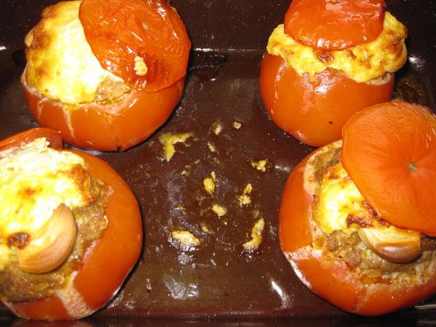 Gefüllte Tomaten - Rezept - Bild Nr. 3014