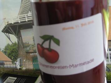 Schattenmorellen-Marmelade - Rezept - Bild Nr. 2