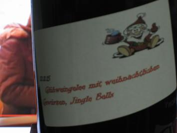 """Glühweingelee """"Jingle Bells"""" mit weihnachtlichen Gewürzen - Rezept - Bild Nr. 3013"""