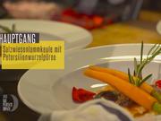 Zarte Lammkeule mit Rosmarin, Rotwein und glasierten Möhrchen auf Petersilienwurzelpüree - Rezept - Bild Nr. 2