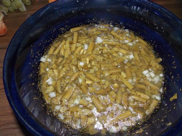 Bohnensalat einfach - Rezept - Bild Nr. 3045