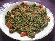 Spinatstäbschen mit Tomaten und Sonnenblumenkernen - Rezept - Bild Nr. 3074