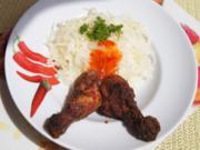 Chicken mit Knoblauch-Krautsalat und süßer Chilisauce - Rezept - Bild Nr. 3095