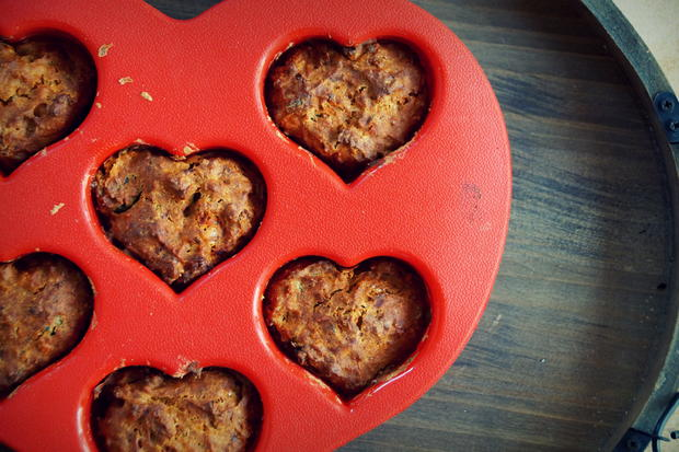 Gebäck: Pikante Pizza-Muffins - Rezept - Bild Nr. 2