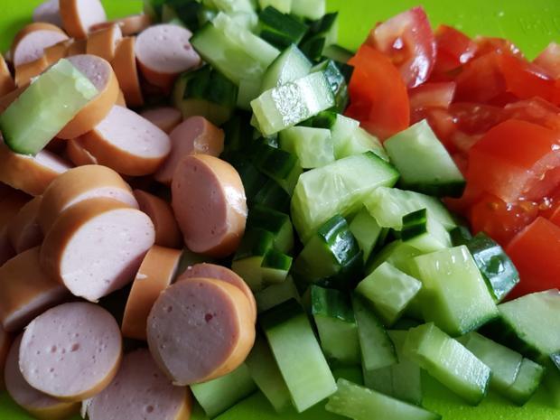 Sommer Salat mein Lieblingssalat zum Picknick - Rezept - Bild Nr. 2