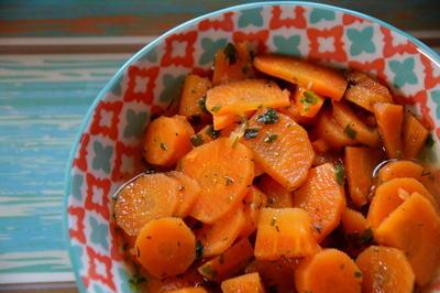 Beilage: Gekochter Karotten-Salat - Rezept - Bild Nr. 2