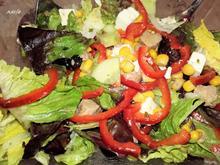 Frischer Bunter Salat - Art Bauernsalat - Rezept - Bild Nr. 3130