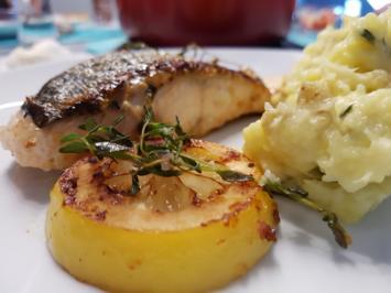 Rezept: Fisch / Lachs = Lachsfilet mit Gartenkräutern à la Biggi
