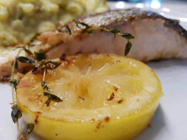 Fisch / Lachs = Lachsfilet mit Gartenkräutern à la Biggi - Rezept - Bild Nr. 3139