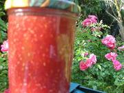 Himbeer-Cantaloupe-Melonen Marmelade - Rezept - Bild Nr. 3131