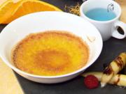 Mango Creme Brûlée mit karamellisiertem Chili-Spargel - Rezept - Bild Nr. 2