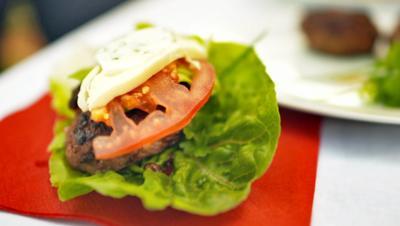 Fitness-Burger - Rezept - Bild Nr. 3144