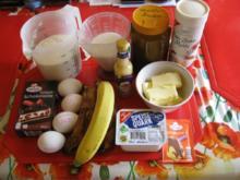 Bananen Schoko Kuchen - Rezept - Bild Nr. 3159