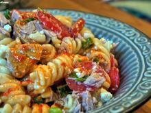 Thunfisch-Pasta-Salat mit Ajvar-Dressing - Rezept - Bild Nr. 3161