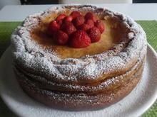 Erdbeer-Käsekuchen mit Knusperboden - Rezept - Bild Nr. 3161