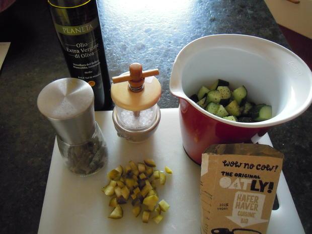 sommerliche geeiste Gurkensuppe - Rezept - Bild Nr. 3170