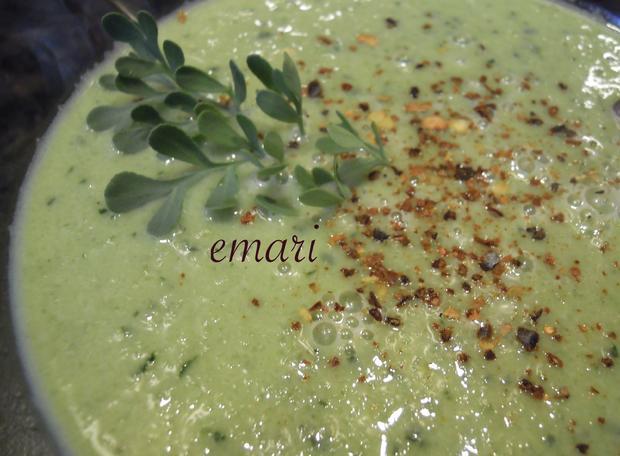sommerliche geeiste Gurkensuppe - Rezept - Bild Nr. 3174