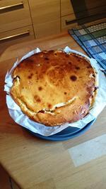 Käsekuchen mit Kirschen - Rezept - Bild Nr. 4
