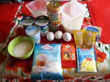 Mandrinen Schmand Kuchen mit Kokosstreusel - Rezept - Bild Nr. 3204
