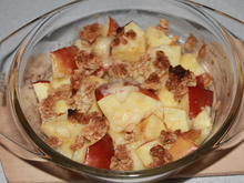 Apfel-Müsli-Crumble - Rezept - Bild Nr. 2