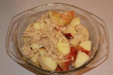 Apfel-Birnen-Müsli-Crumble - Rezept - Bild Nr. 2