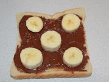 Schoko-Bananen-Toast - Rezept - Bild Nr. 2