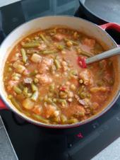 Gemüsesuppe deftig eingekocht - Rezept - Bild Nr. 3209
