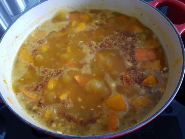 Gemüsesuppe deftig eingekocht - Rezept - Bild Nr. 3214