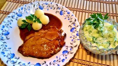 Rezept: Kammbraten - geschmort