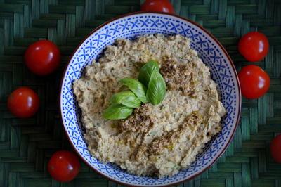 Dip, Aufstrich: Pesto-Hummus - Rezept - Bild Nr. 2