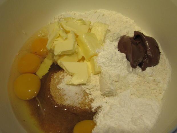 Backen: Nutella-Kasten mit Überraschungseffekt - Rezept - Bild Nr. 3211