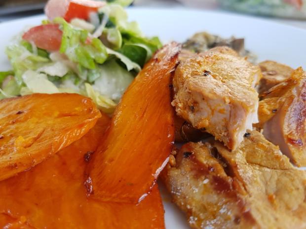 Fleisch / Schwein= Filetspiesse und Beilagen à la Biggi - Rezept - Bild Nr. 3219