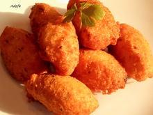 Pastéis de Bacalhau - Portugiesische Stockfisch Pasteten - Rezept - Bild Nr. 3226